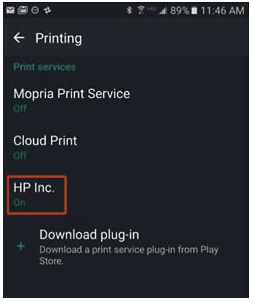 HP Photosmart 7515 Wifi Printer Setup Android Smartphones or HP Photosmart 7515 Wifi Printer Setup Tablets