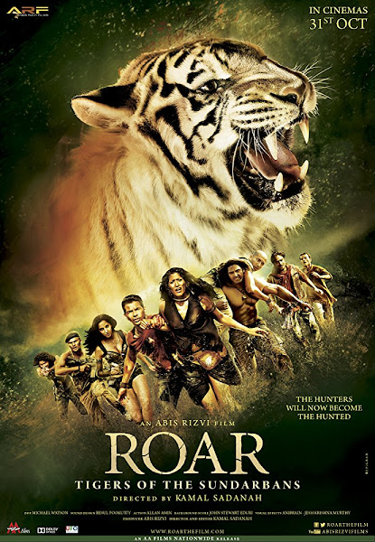 Poster of ROAR Tigers of the Sundarbans 2014 Full Movie 720p Hindi HDRip Download