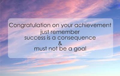 Congratulations quote image on achievement