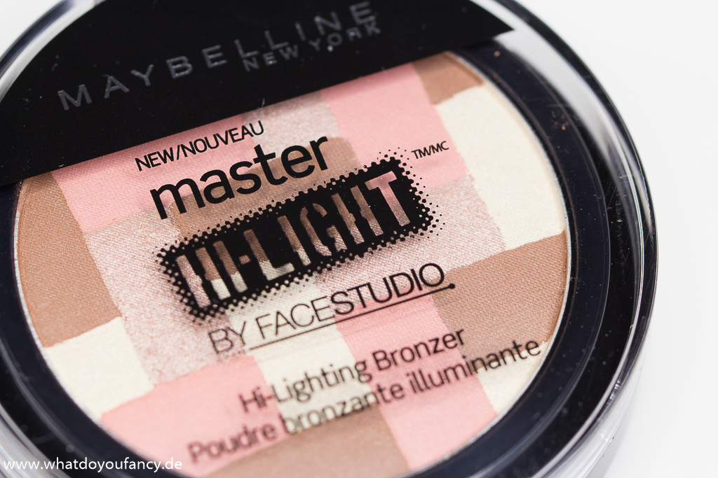 Maybelline Master Hi-Lighting Bronzer 50 Light Bronze