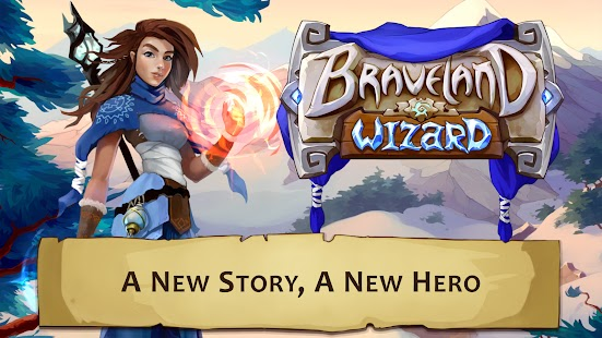 Braveland wizard Apk+Data Free on Android Game Download