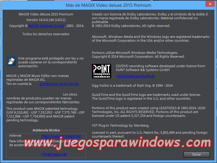 Magix Video Deluxe Premium 2015 ESPAÑOL Producciones De Video Sorprendentes (NEWiSO) 9