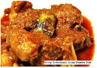 Resep Ayam Bumbu Bali top
