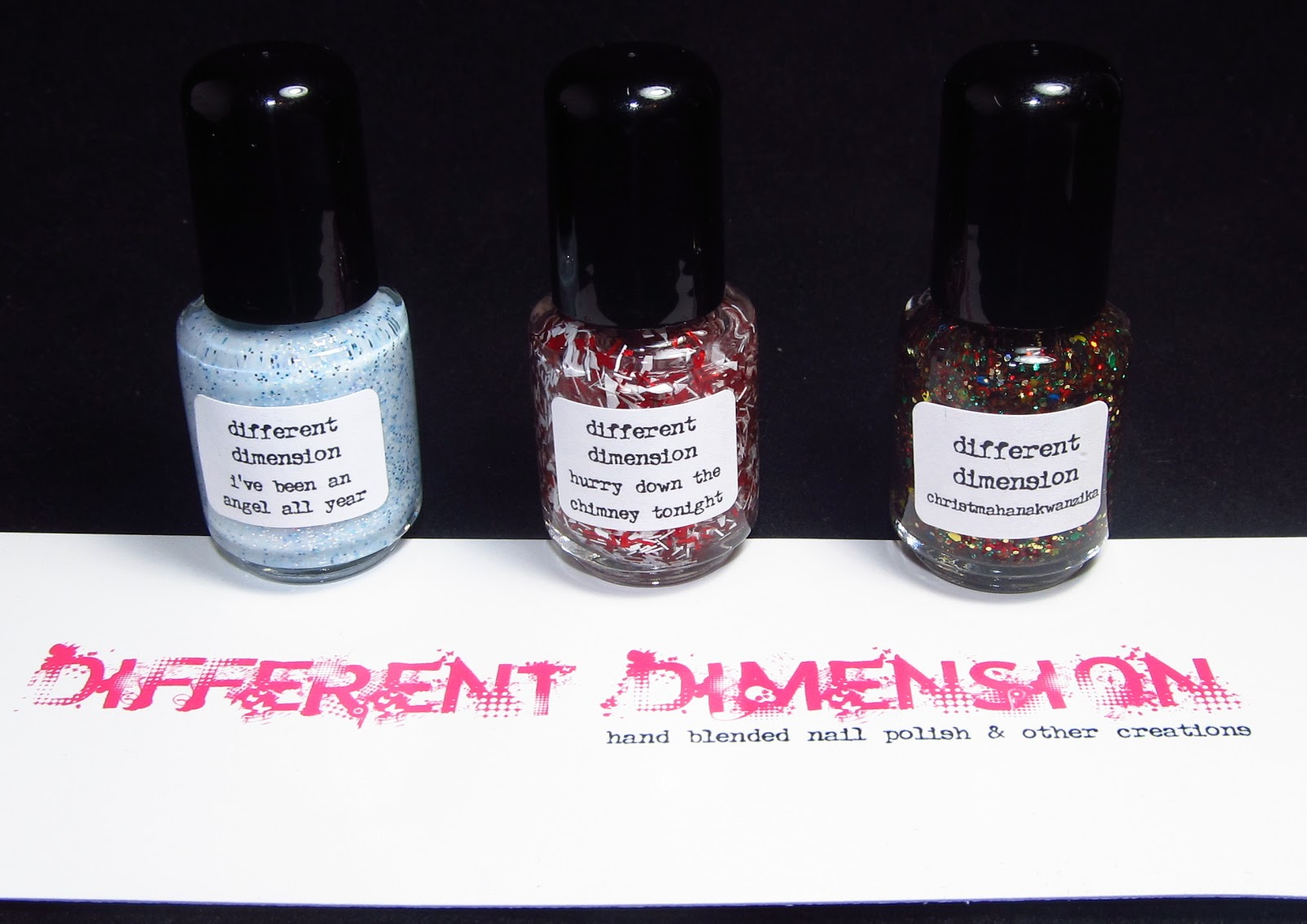 Different Dimension - Santa Baby Collection & Giveaway