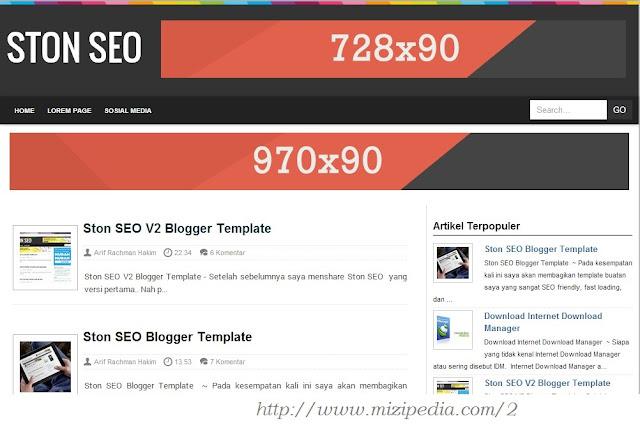 Download Template  Ston SEO V3 Responsive Blogger
