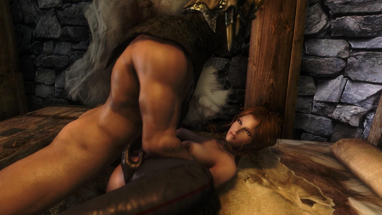 Смотреть порно фото из игры скайрим