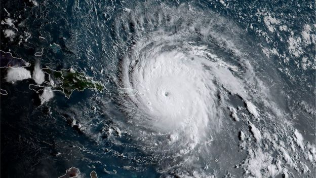 Hurricane Irma causes 'major damage' in the Caribbean