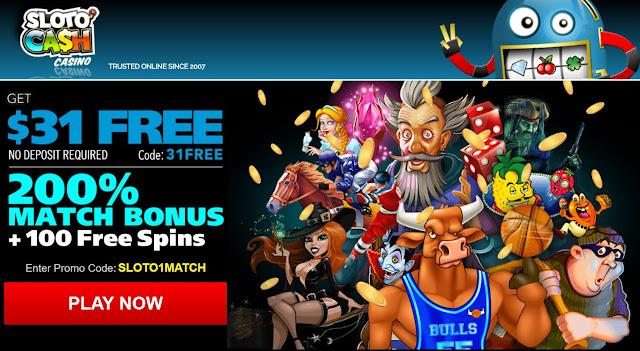 Sloto Cash casino new summer welcome bonus offer