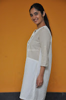 Radhika Cute Young New Actress in White Long Transparent Kurta ~  Exclusive Celebrities Galleries 081.JPG