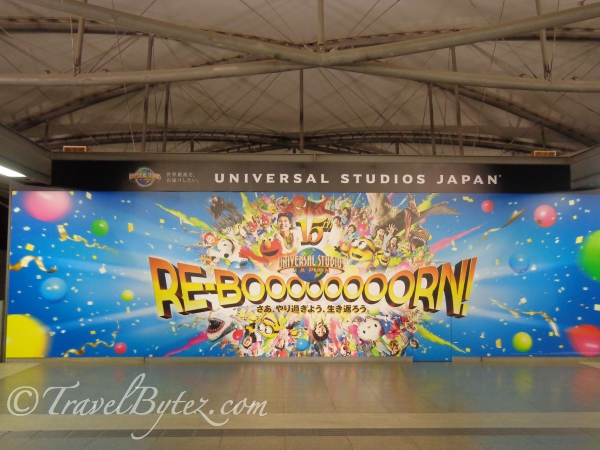 Getting to Universal Studios Japan from Kyoto