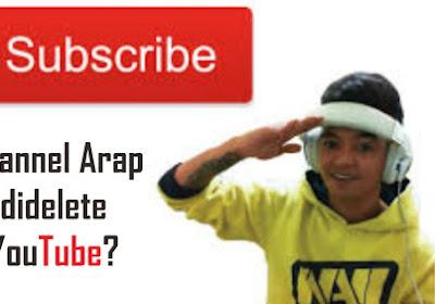 Channel Reza Oktovian Hilang dari YouTube