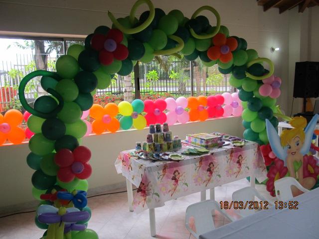 Decoracion fiesta campanita tinker bell decoraci n for Sillas para quinceaneras decoradas