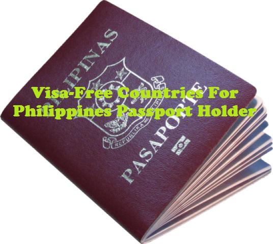 Electronic Visa Application Myanmar: Visa-Free Countries For Filipino Citizens