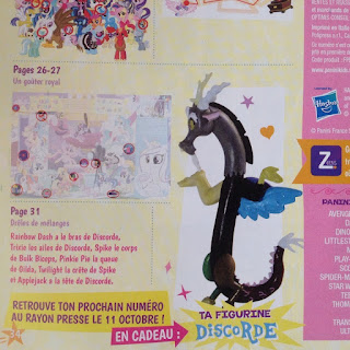 MLP Discord Magazine Figure Announcement