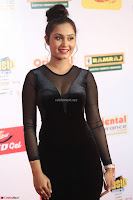 Vennela in Transparent Black Skin Tight Backless Stunning Dress at Mirchi Music Awards South 2017 ~  Exclusive Celebrities Galleries 093.JPG