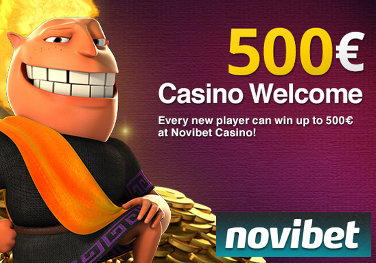 Novibet Casino Screen