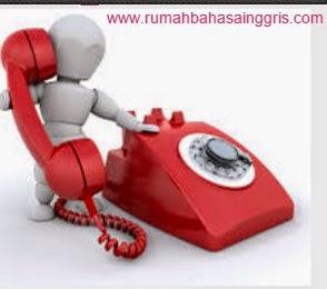 Cara Membuat Dan Menjawab Telepon Dalam Bahasa Inggris Beserta