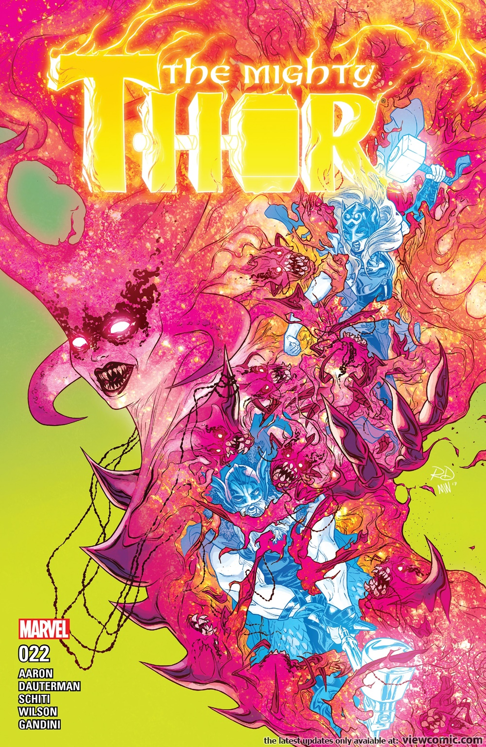 The Mighty Thor v2 022 (2017)    Vietcomic.net reading comics online for free