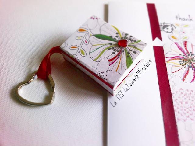 Mini agenda, mini quadernino, blocchi per appunti fatti a mano