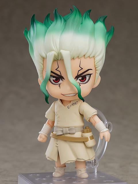 Figuras: Imagenes y detalles del Nendoroid de Senku Ishigami de Dr. Stone - Good Smile Company