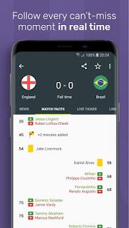 FotMob World Cup 2018 v77.0.4966 Full APK