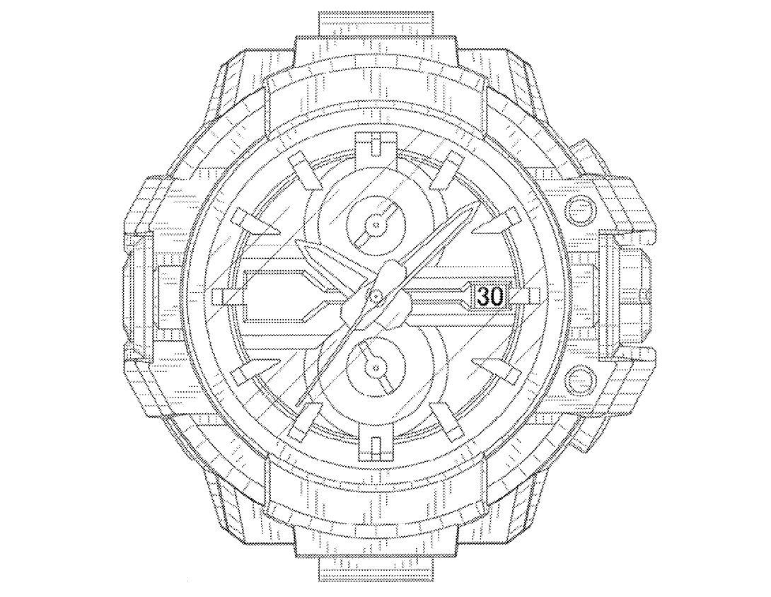 Zona Casio: Bocetos del desarrollo del GW-A1000