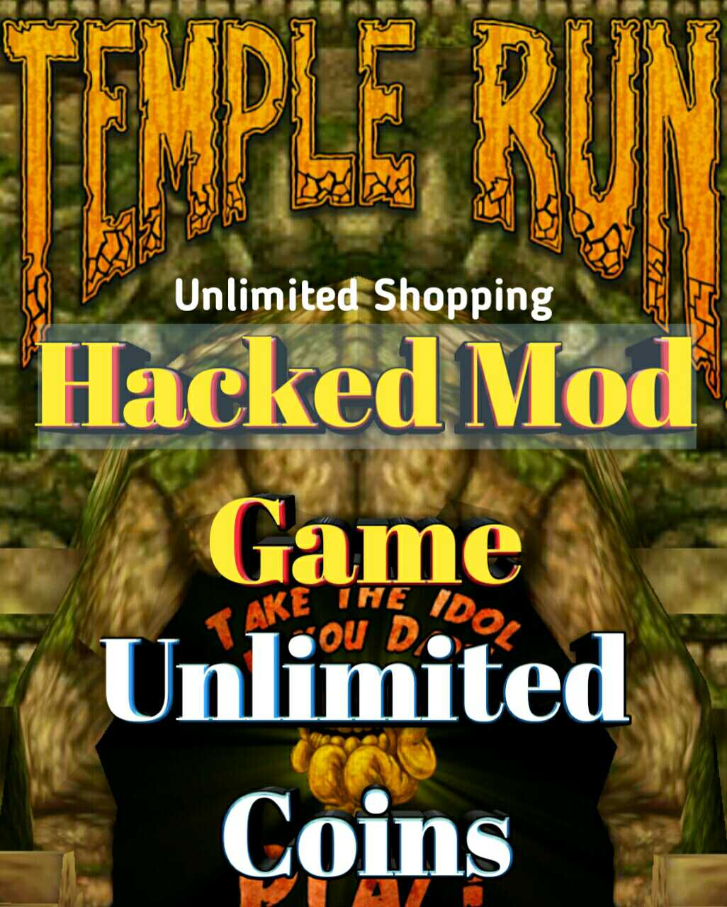 Temple run mod hacked game apk unlimited coins