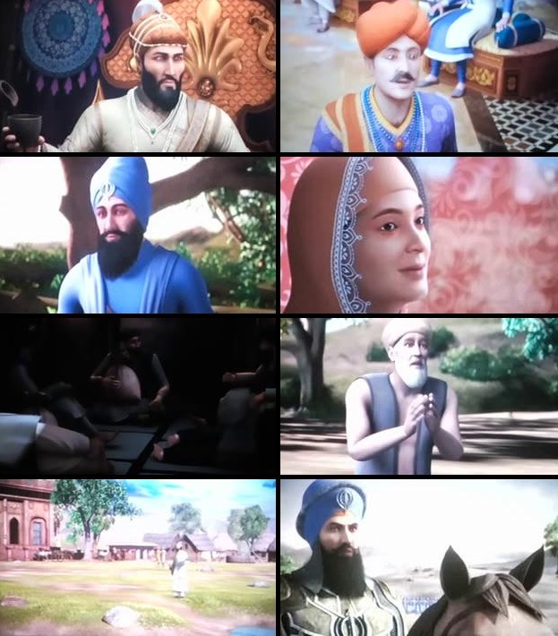 Chaar Sahibzaade Rise of Banda Singh Bahadur 2016 Punjabi pDVDRip 700mb Download