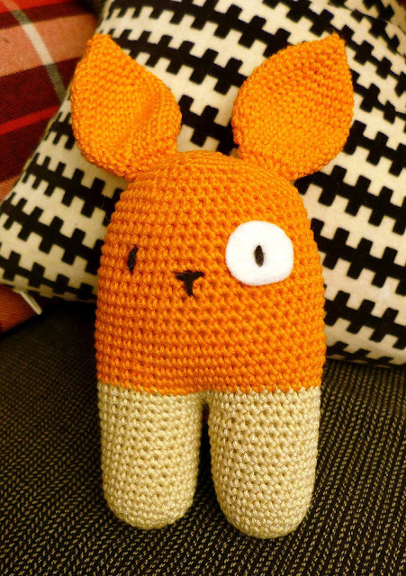 blankie crochet rabbit