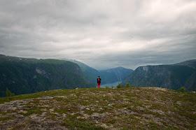 Vue de l'Aurlandsfjord