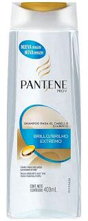 pantene brilho extremo shampoo transparente