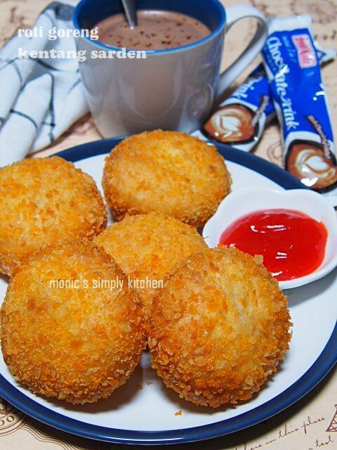 resep roti goreng sarden kentang