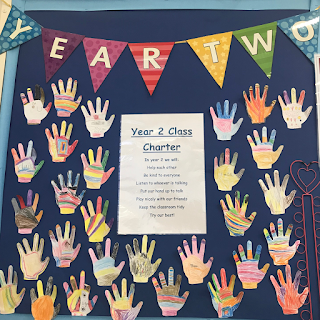 primary school welcome year 2 display