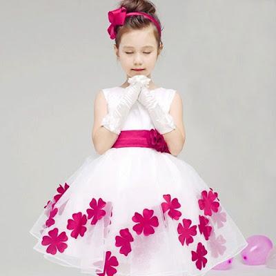 Model Dress Pesta Anak Perempuan Cantik dan Manis