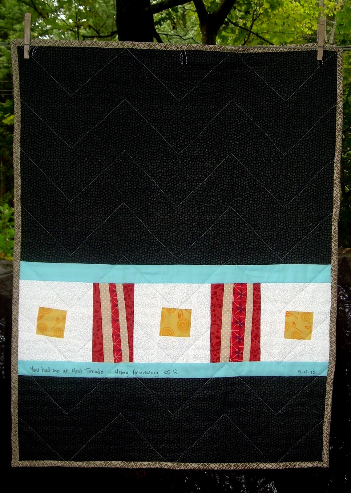 Quilt Story Ron Swanson Quilt From Simple Sewendipity