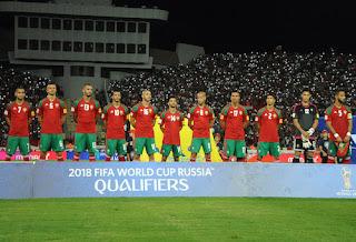 """المغرب يتقدم 8 مراتب في تصنيف """"الفيفا"""" لشهر نوفمبر"""