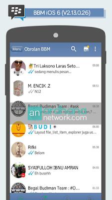 BBM iOS 6 V2.13.0.26