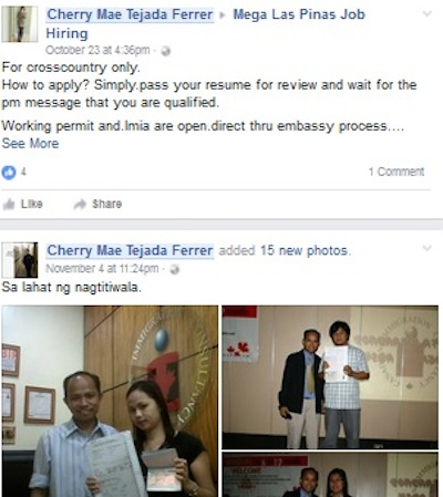 Cherry Mae Tejada Ferrer is a Scammer | Don't be a Victim