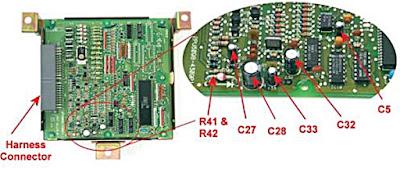 Diagnosa kerusakan ECU Bag 3 : Perbaikan Kerusakan Komponen ECU dan Mencari Komponen ECU