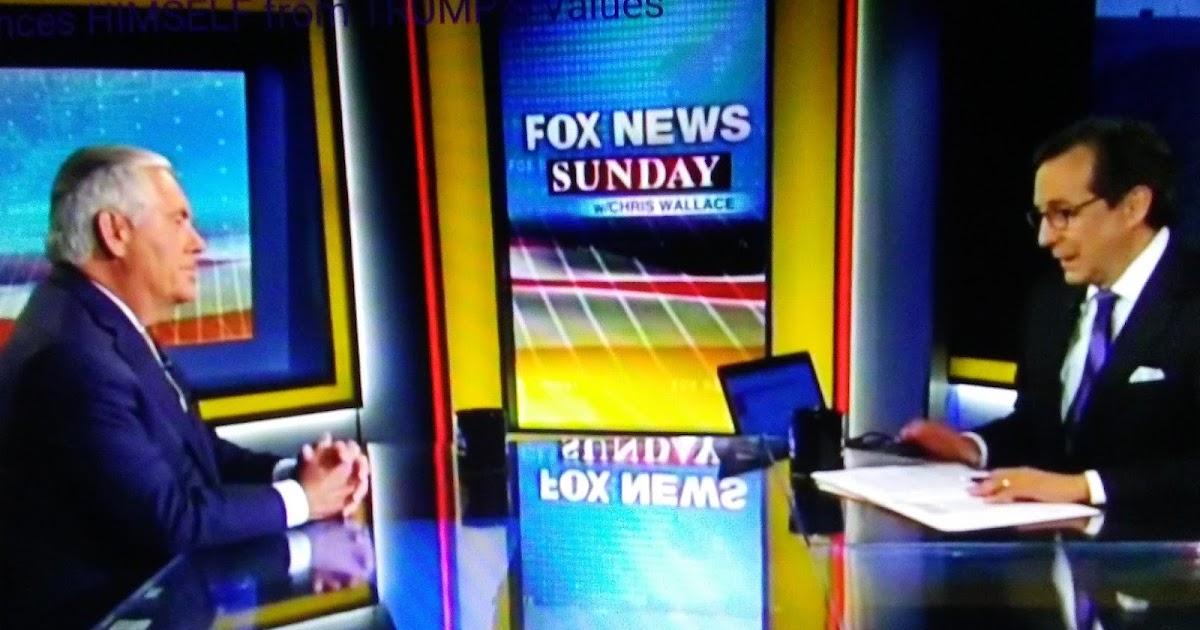 Trump Fires Secretary of State Rex Tillerson, 7 months Overdue