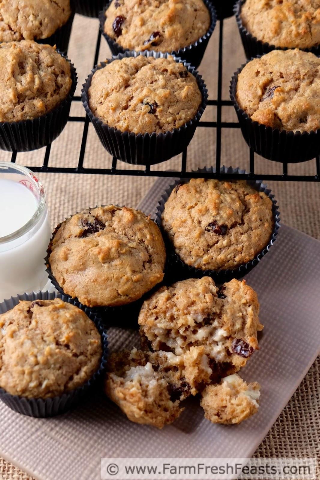 Farm Fresh Feasts: Oatmeal Raisin Cookie Butter Muffins # ...