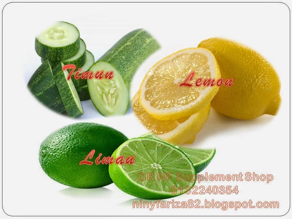 Cara Diet Asik dengan Lemon dan Mentimun