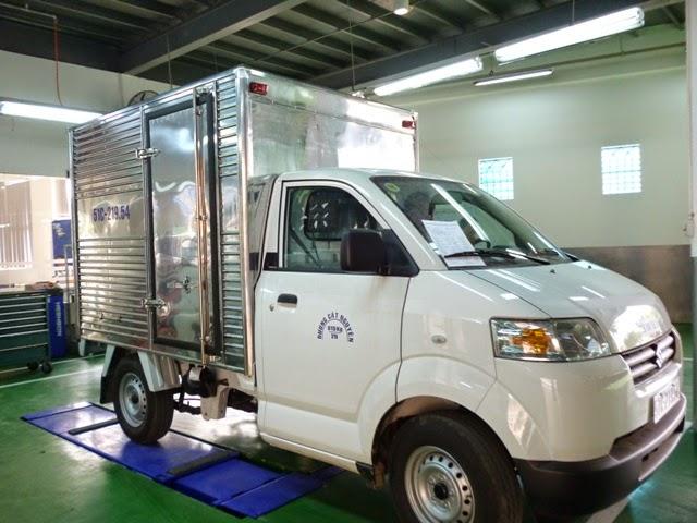 bán xe tải suzuki thùng kín 4