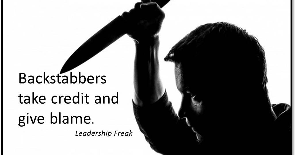 Backstabbers Sayings And Quotes