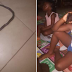 Woman shares testimony of how she found snake inside her house where her children slept