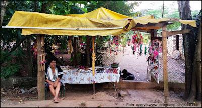 Maria Ara Poty, uma das mais tradicionais artesãs do TI Jaraguá