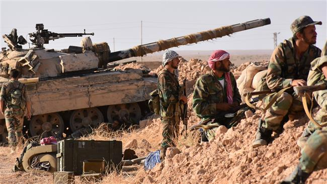 Syrian forces oust Daesh Takfiris from all of Hama province: Monitoring group