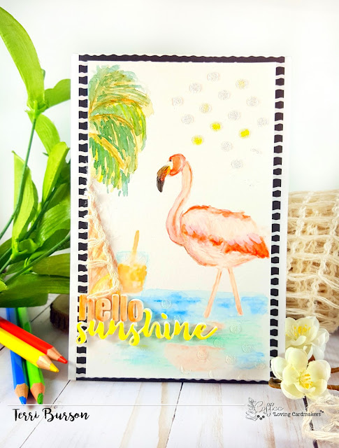 Day One Coffee Loving Cardmakers Summer Blog Hop