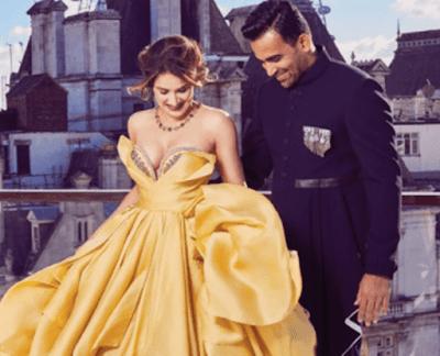 Zaheer Khan & Sagarika Ghatge Honeymoon Pics