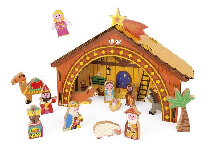 Belén de madera para niños de Janod